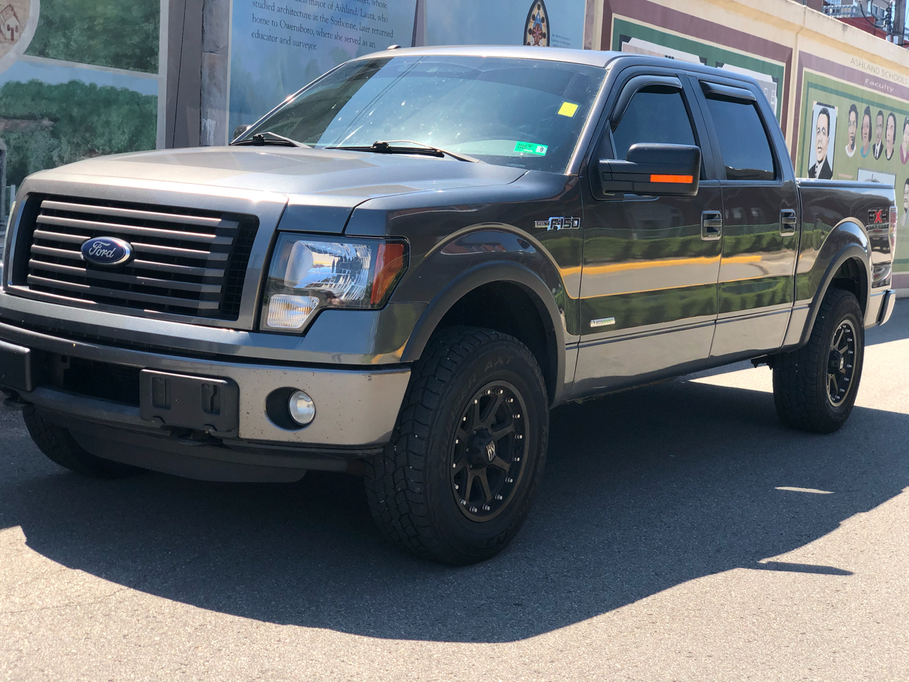 """Ford F-150 4WD SuperCrew 150"""" FX4 2011"""