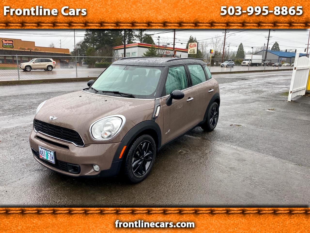 MINI Countryman S ALL4 2013