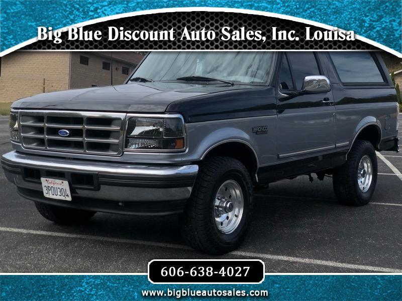 "Ford Bronco 105"" WB Eddie Bauer 1995"