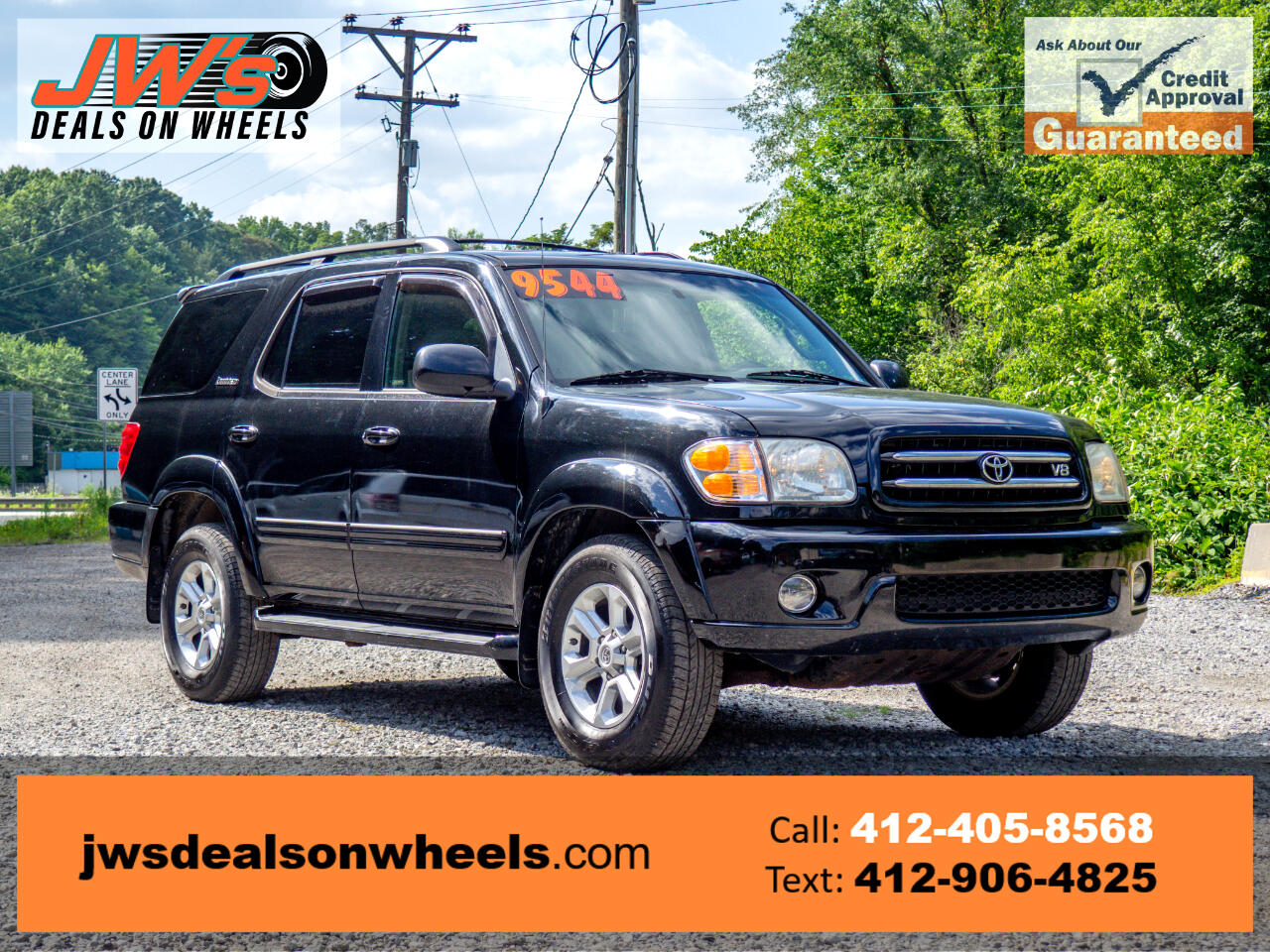 Toyota Sequoia 4dr Limited 4WD (Natl) 2004