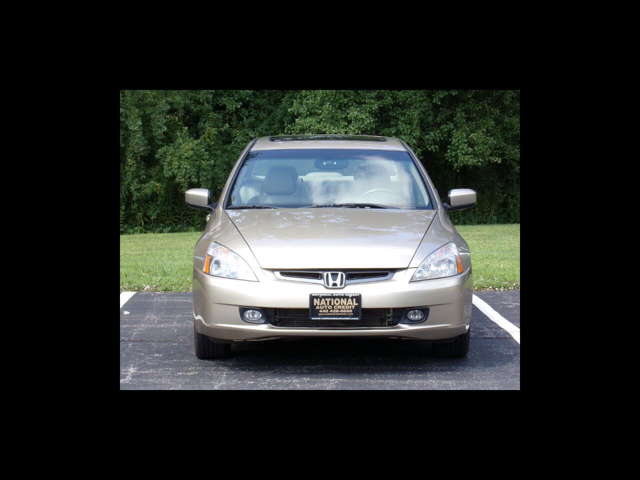 Honda Accord EX V-6 Sedan AT with Navigation System and XM Radi 2004