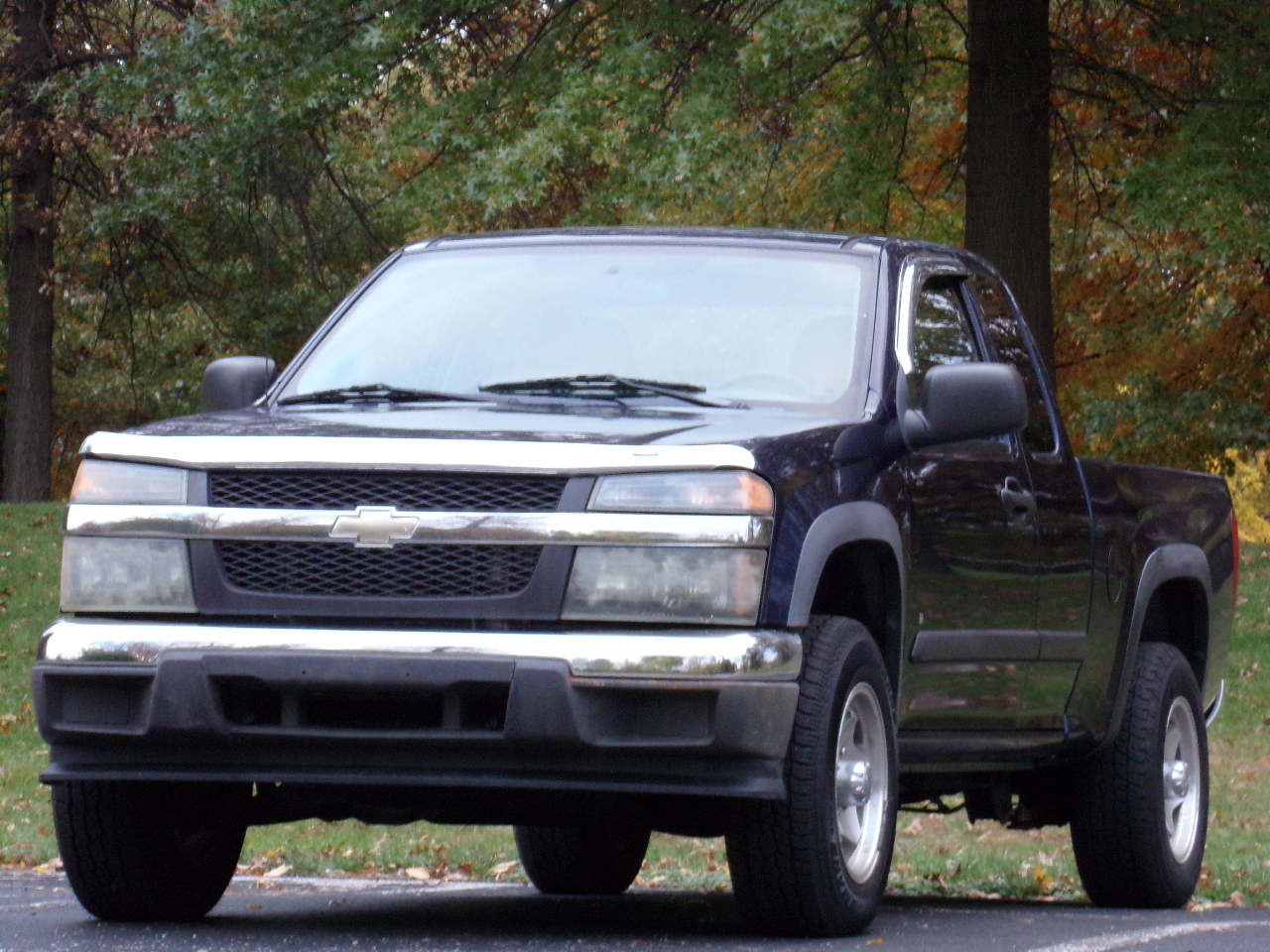 Chevrolet Colorado Work Truck Ext. Cab 4WD 2007