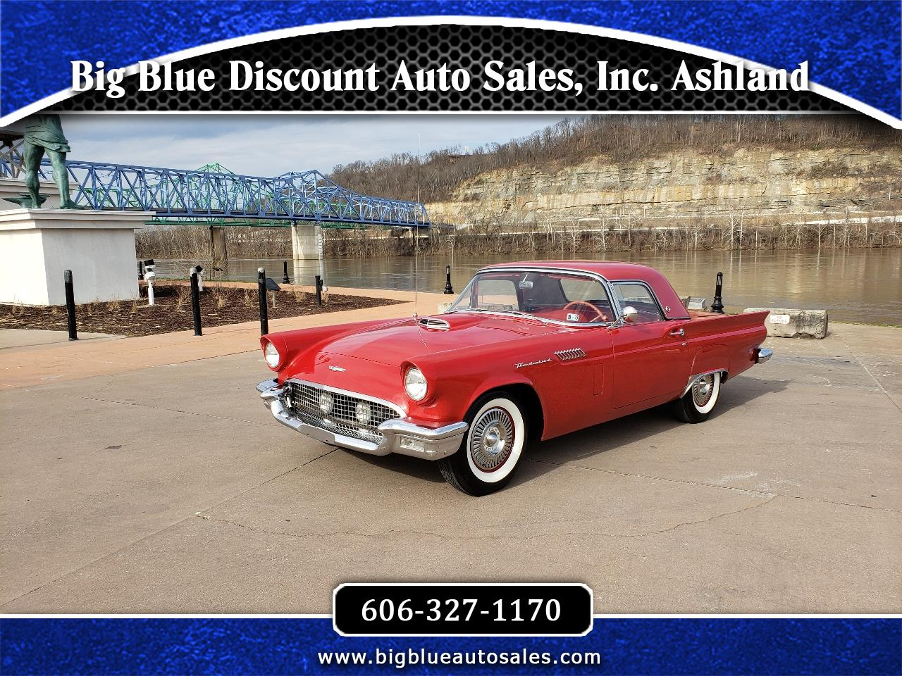 Ford Thunderbird 2dr Conv w/Hardtop Deluxe 1957