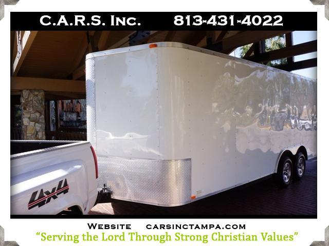2010 Champion 720A Enclosed A/C Trailer