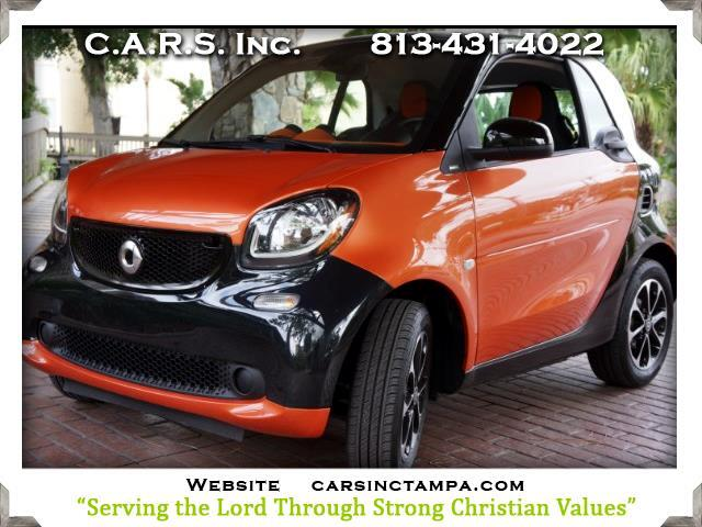 2016 smart Fortwo Passion Premium Coupe