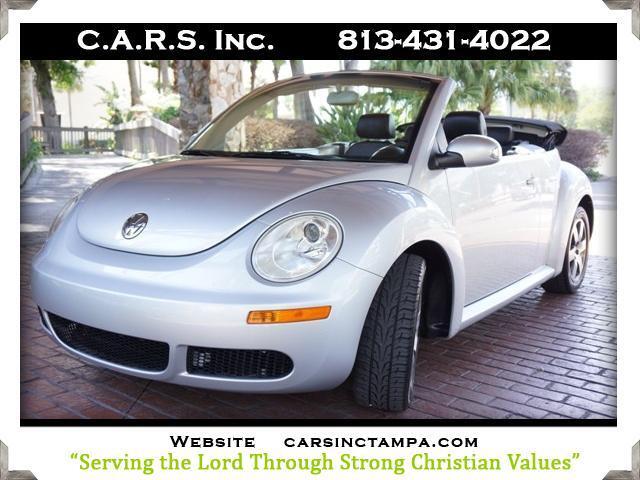 2006 Volkswagen New Beetle Premium 2.5L Convertible