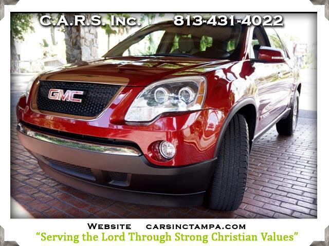 2008 GMC Acadia Premium SLT2 Package