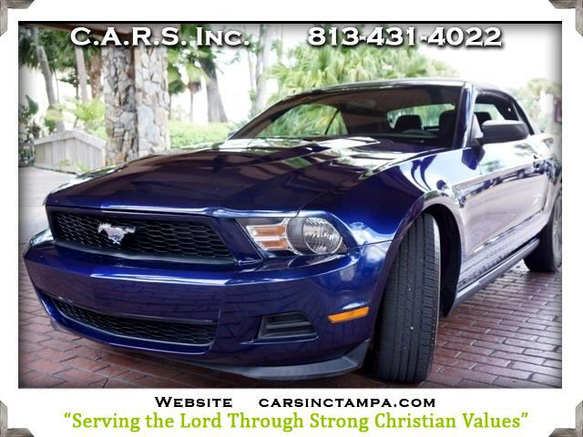2012 Ford Mustang Premium V6 Convertible
