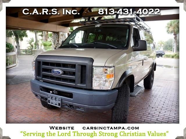 2011 Ford Econoline Safari Conversion E350 Super Duty Lifted