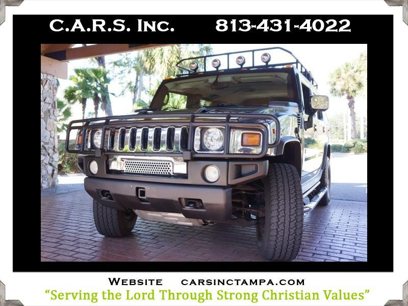 2005 HUMMER H2 Premium Luxury Safari Rack H2