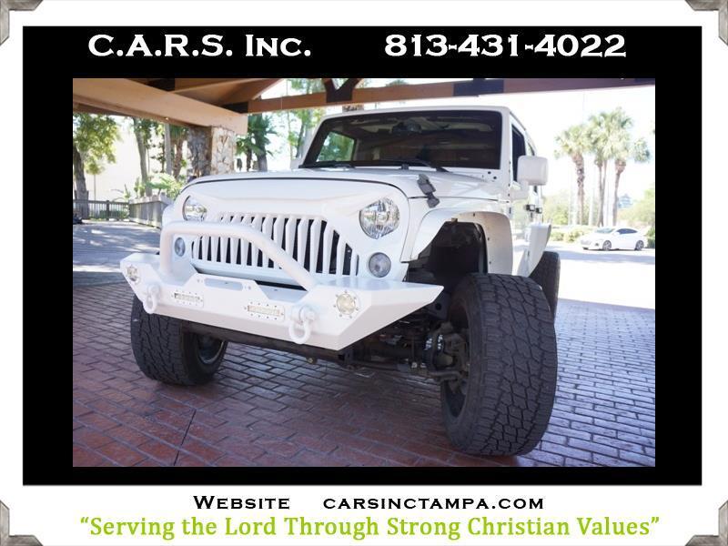 2016 Jeep Wrangler Upfitted Custom Unlimited Wrangler 4WD