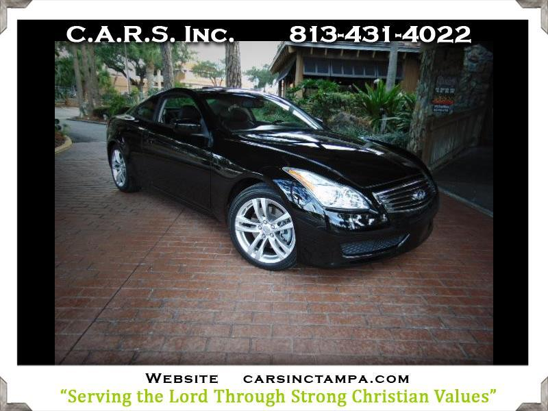 2009 Infiniti G Coupe Premium Journey G37 Coupe
