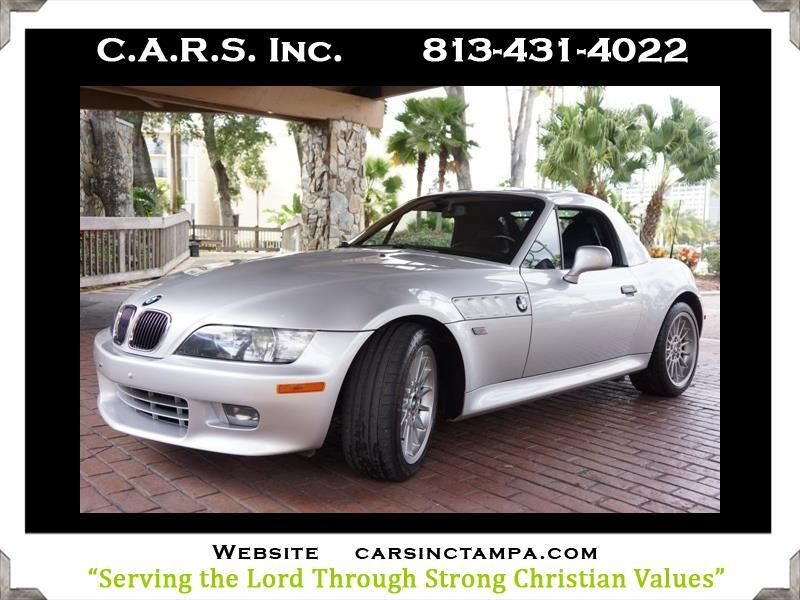 2001 BMW Z3 Premium Removable Hardtop Roadster 3.0L