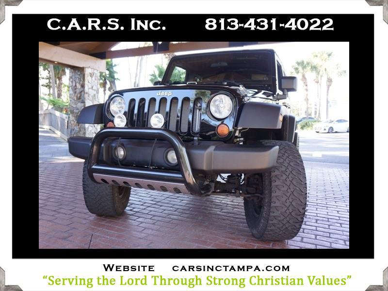 2007 Jeep Wrangler Unlimited X 4WD Hardtop