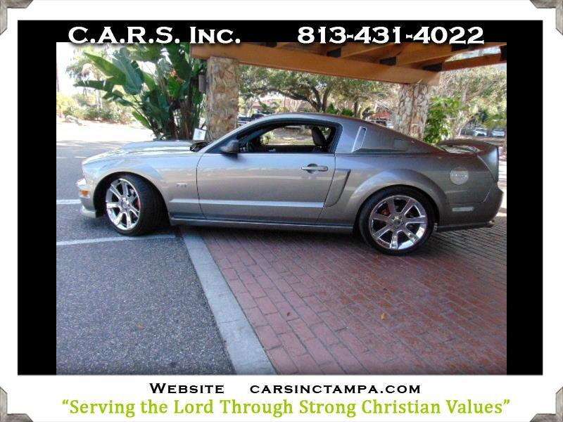 2008 Ford Mustang Steeda Features GT Coupe