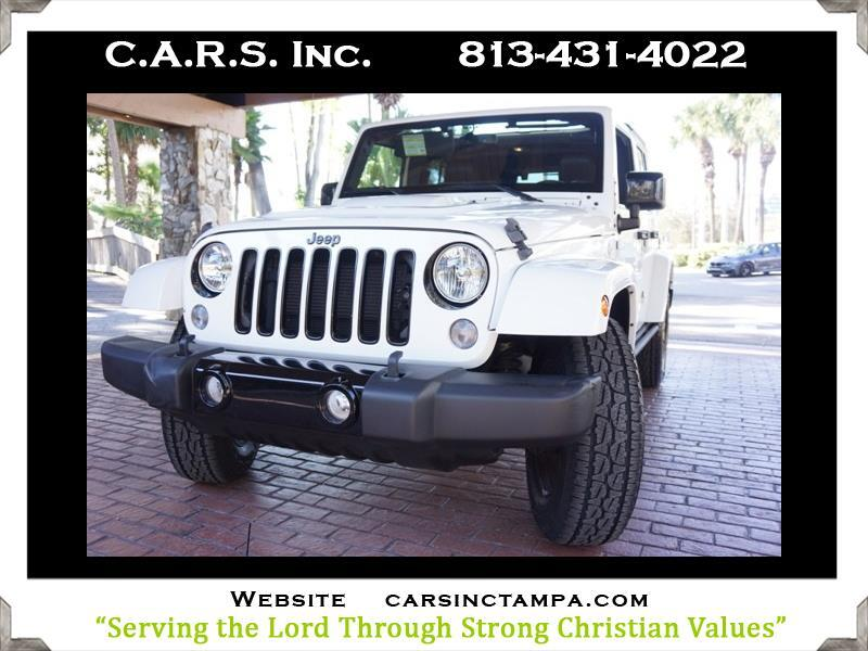 2015 Jeep Wrangler Unlimited Sahara Altitude 5WD