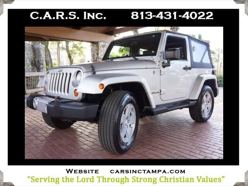 2008 Jeep Wrangler Sahara 4WD Soft Top 2Door Wrangler