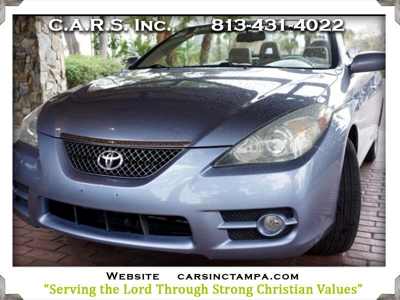 2007 Toyota Camry Solara SLE Premium Convertible New Top