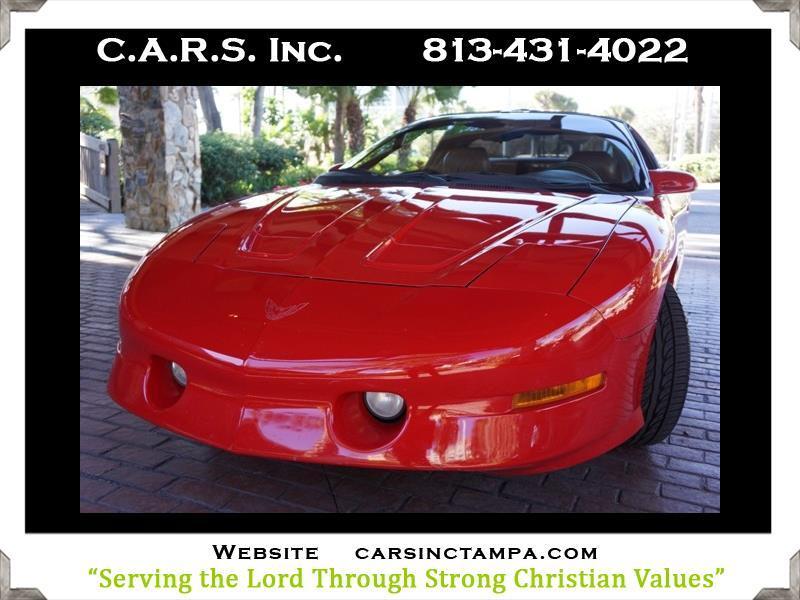 1996 Pontiac Firebird Formula 5.7L Trans Am Coupe