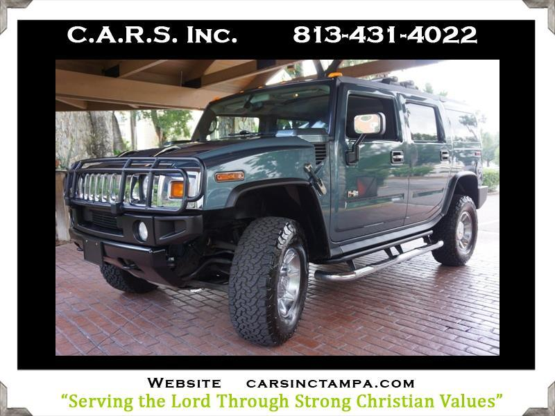 2005 HUMMER H2 Luxury SUV 3rd Row Seat