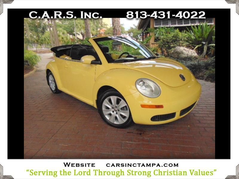 2008 Volkswagen New Beetle Premium SE Convertible