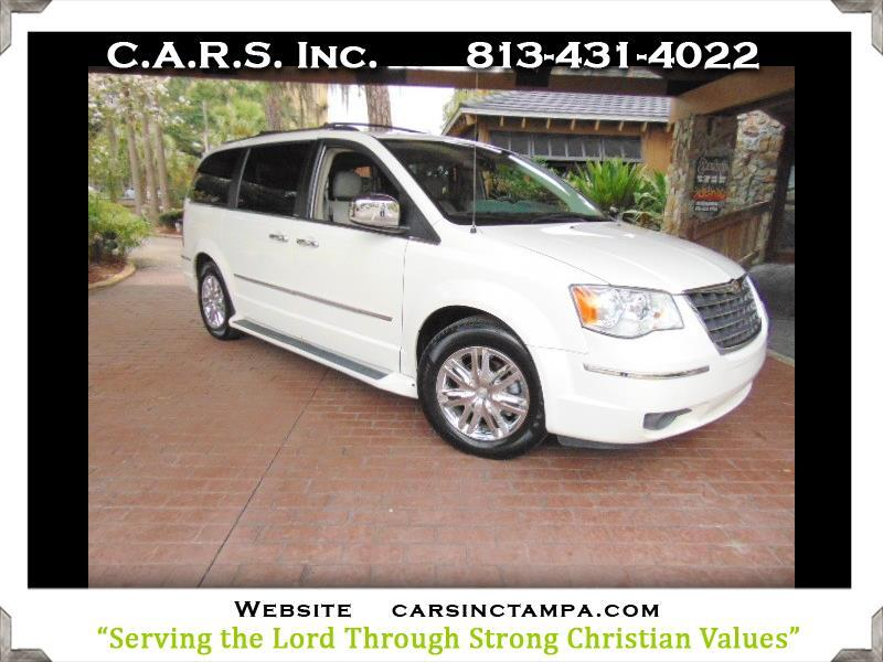 2008 Chrysler Town & Country Premium Limited Suede and Leather