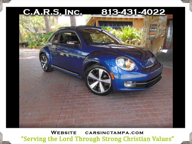 2012 Volkswagen Beetle 2.0 L Turbo Launch Edition