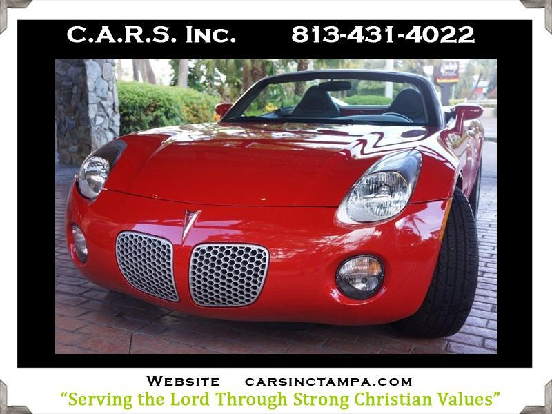 2006 Pontiac Solstice Premium Roadster w/Leather
