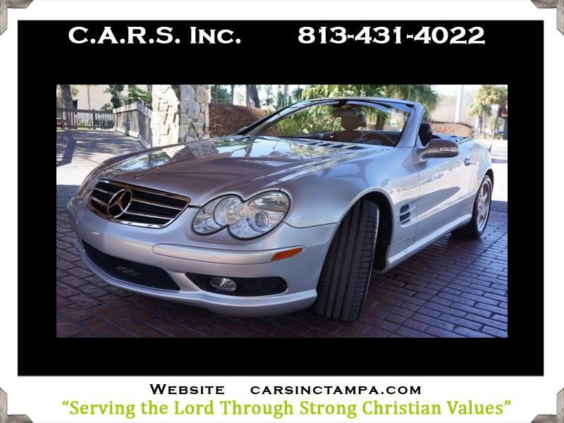 2003 Mercedes-Benz SL-Class AMG Appearance with Pano Roof