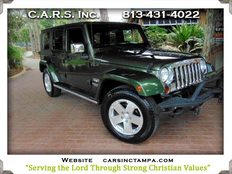 2009 Jeep Wrangler Unlimited Sahara RWD