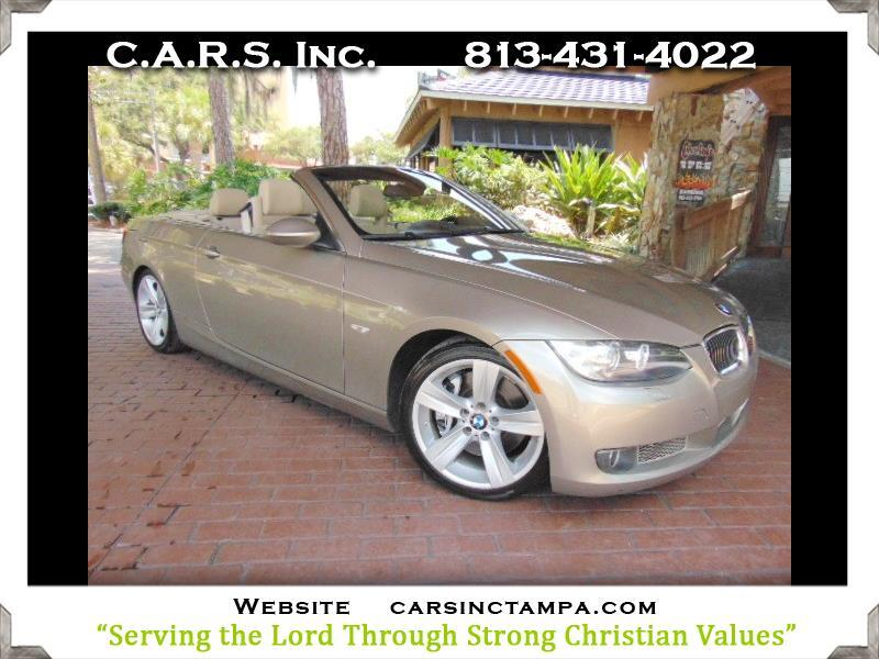 2008 BMW 3-Series Premium BMW 335ic Convertible with Navigation