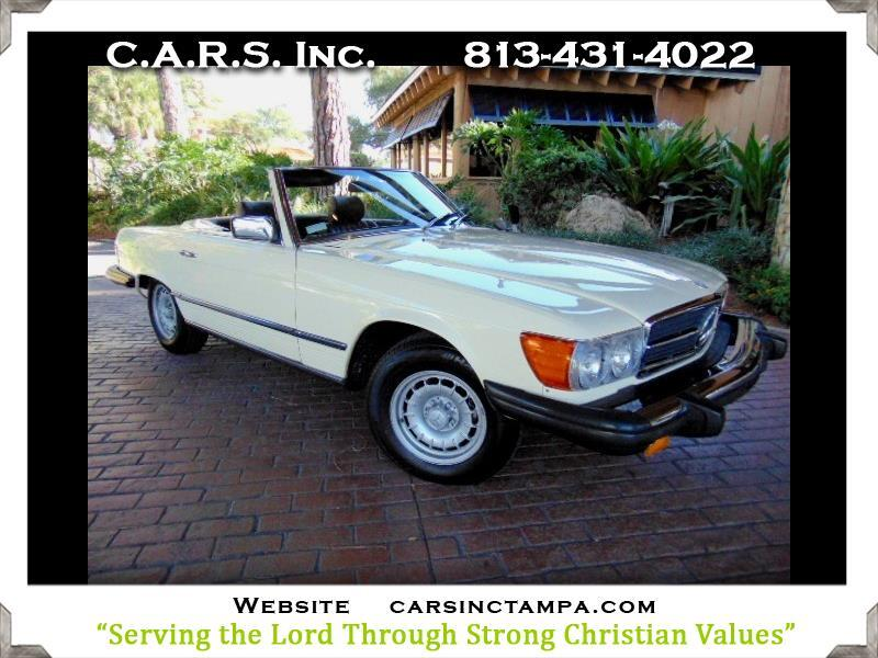 Mercedes-Benz 450SL  1980