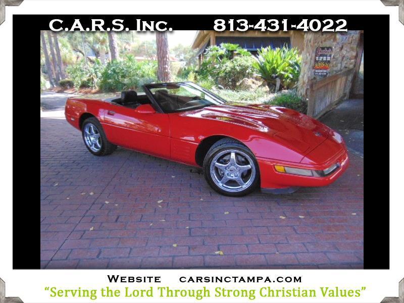 Chevrolet Corvette Convertible 1991