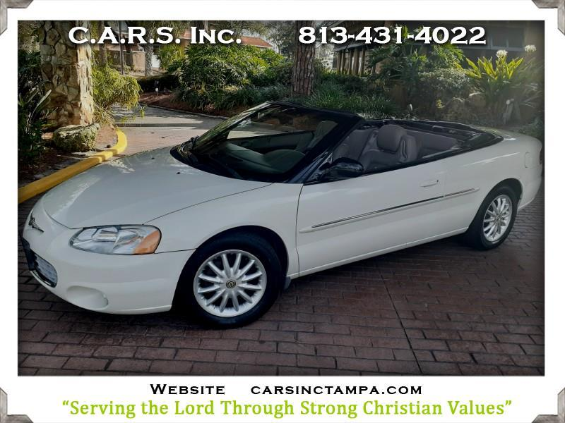 Chrysler Sebring LXi Convertible 2002