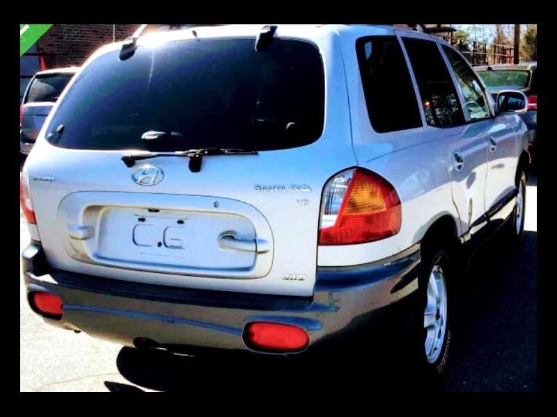 Hyundai Santa Fe GLS 4WD 2002