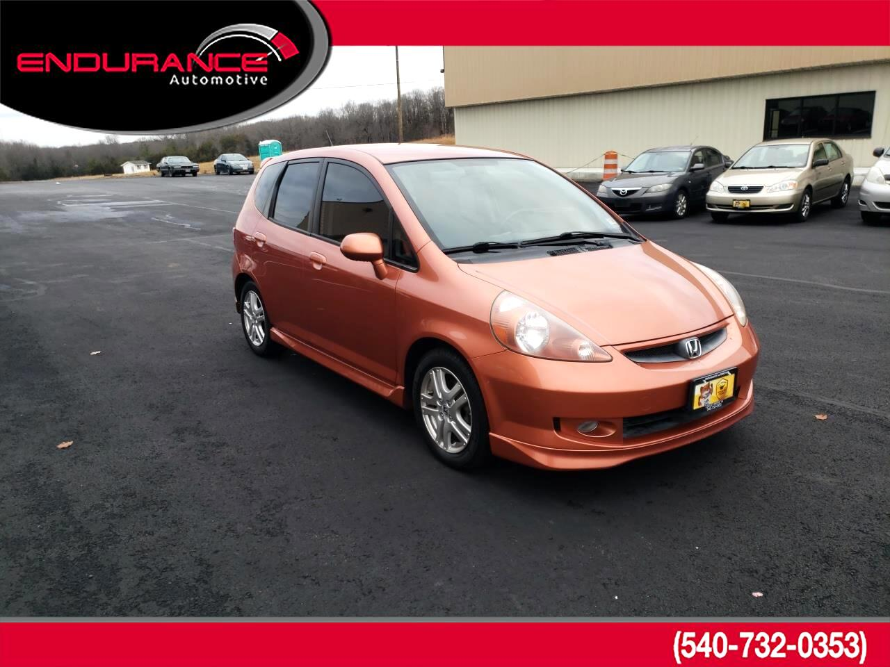 Honda Fit 5dr HB Man Sport 2008