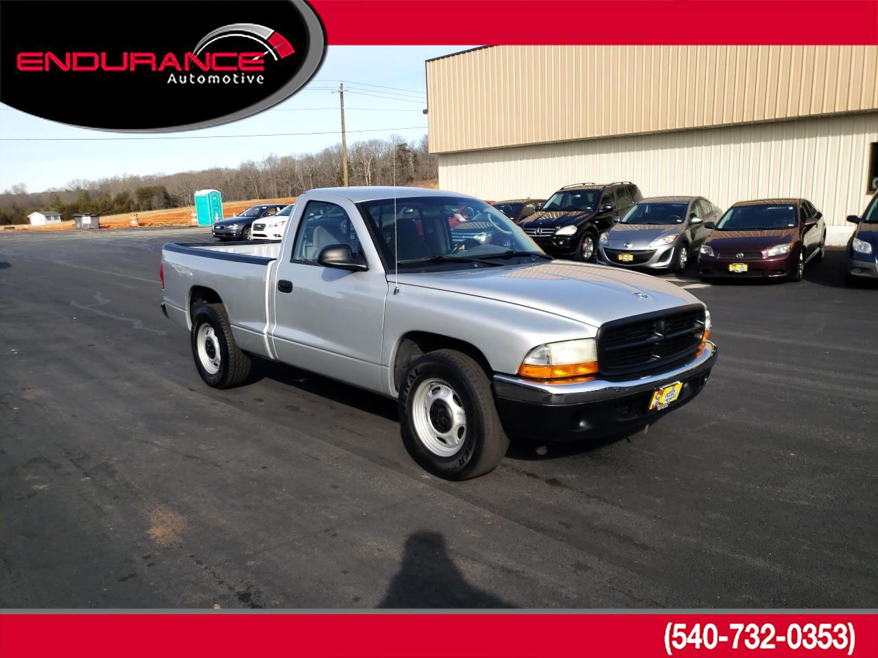 "Dodge Dakota 2dr Reg Cab 112"" WB Base 2003"