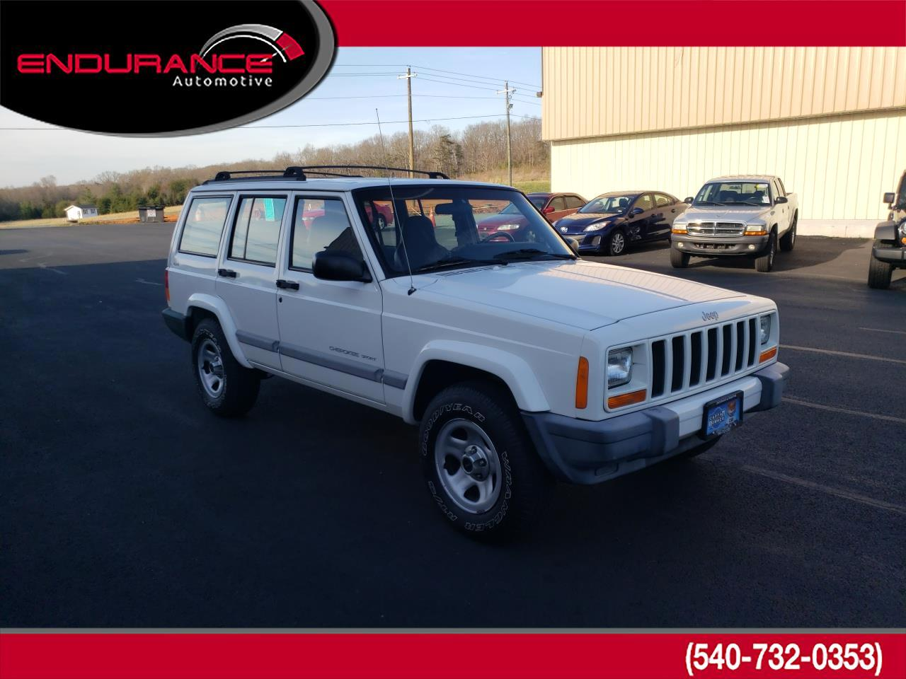 Jeep Cherokee 4dr Sport 4WD 2001
