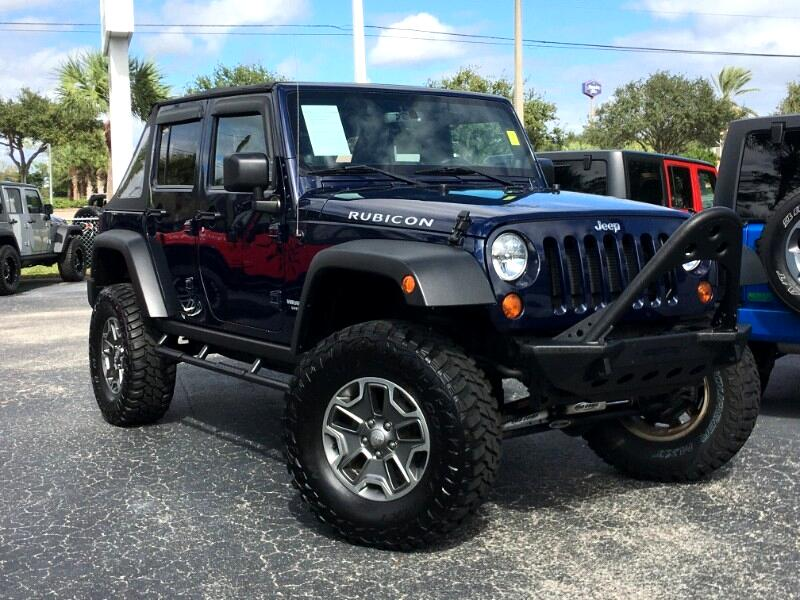 Jeep Wrangler Unlimited Rubicon 4x4 2013