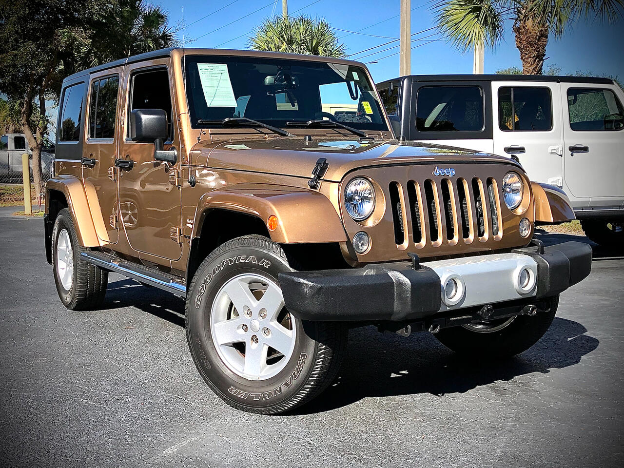 Jeep Wrangler Unlimited Sahara 4x4 2015