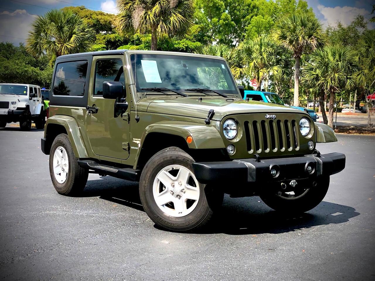 Jeep Wrangler Sahara 4x4 2015