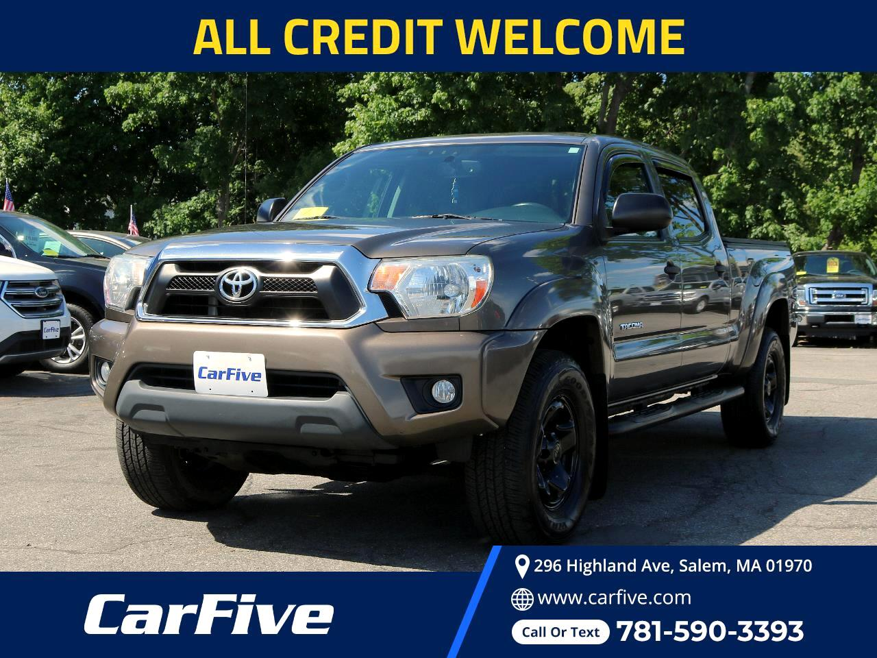 Toyota Tacoma 4WD Double Cab LB V6 AT (Natl) 2012
