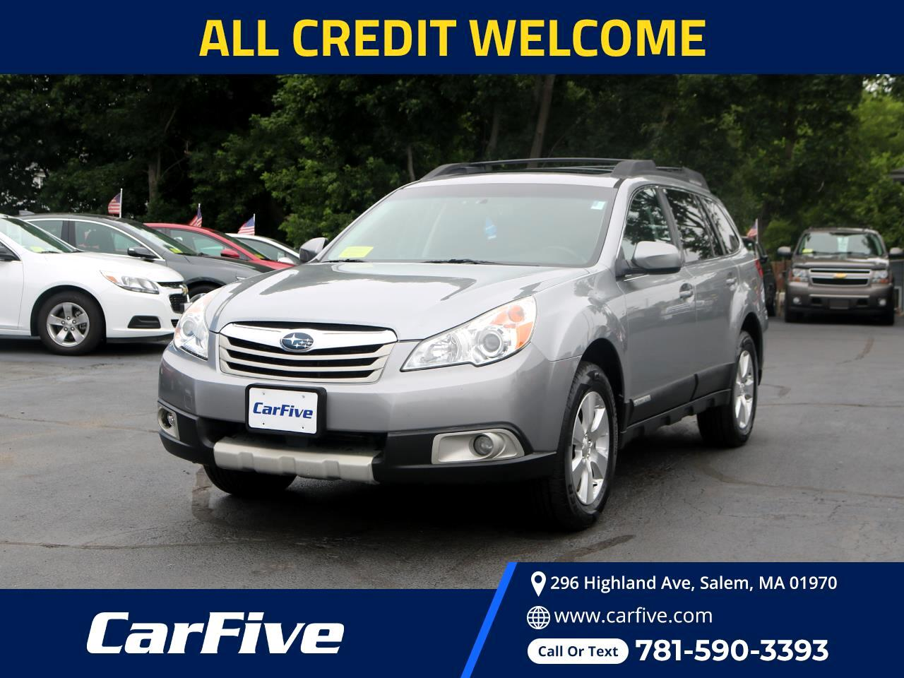 Subaru Outback 4dr Wgn H6 Auto 3.6R Limited Pwr Moon/Nav 2011