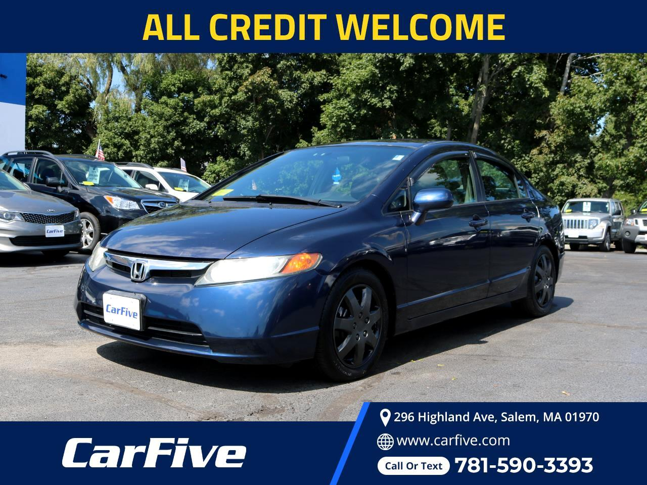 Honda Civic Sdn 4dr AT LX 2007