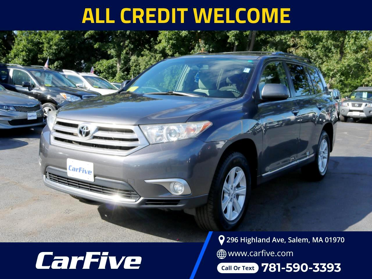 Toyota Highlander 4WD 4dr V6  Base (Natl) 2011