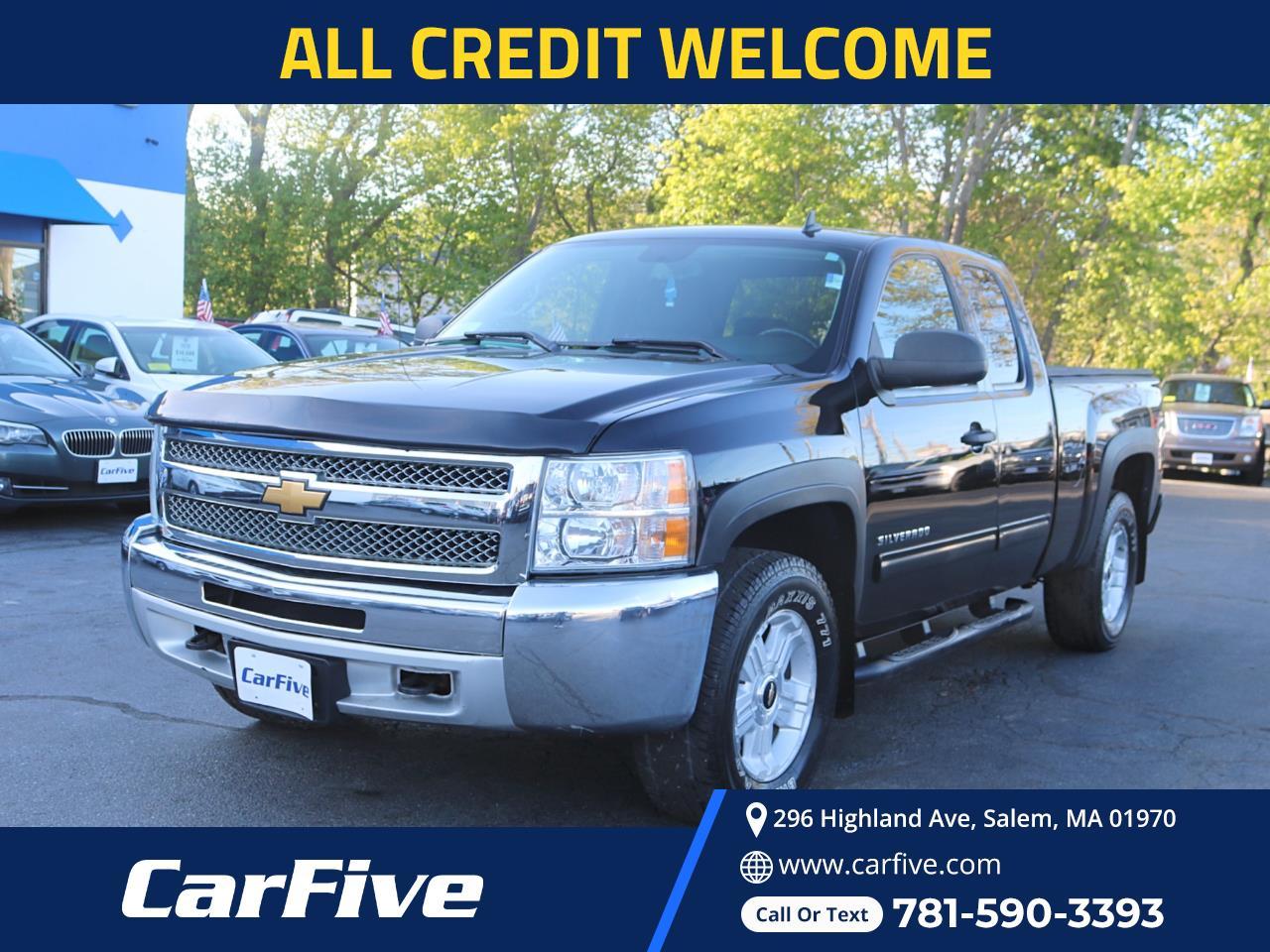 Chevrolet Silverado 1500 LT Ext. Cab 4WD 2013