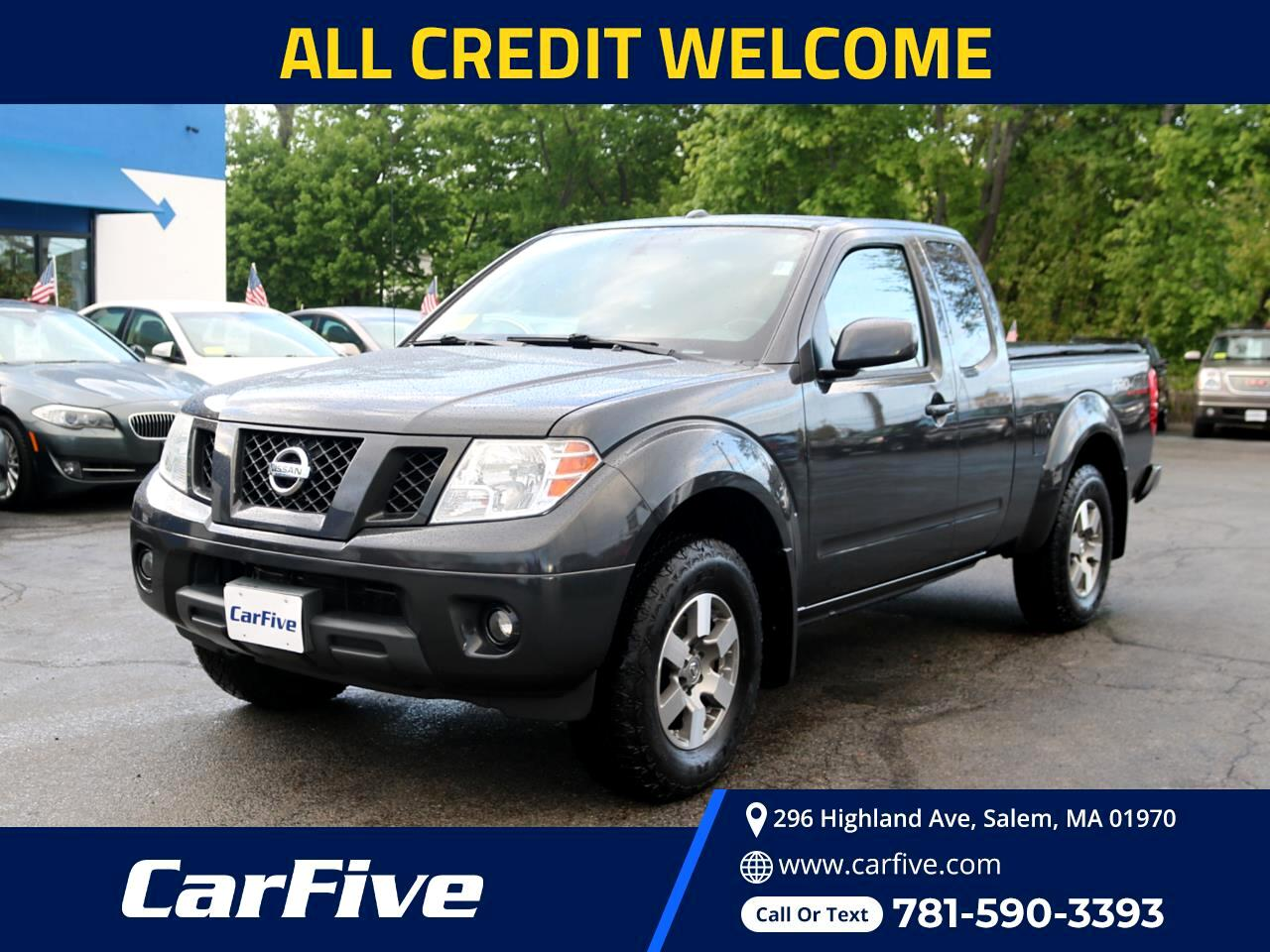 Nissan Frontier 4WD King Cab Auto PRO-4X 2012