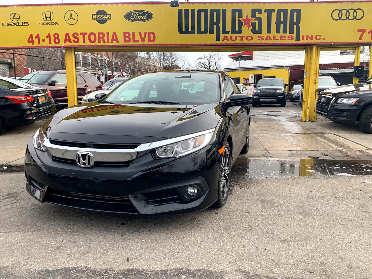 Honda Civic 1.5 4-Door Sedan 2016