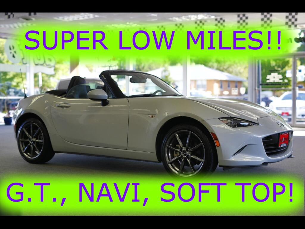 2016 Mazda MX-5 Miata Grand Touring 6MT