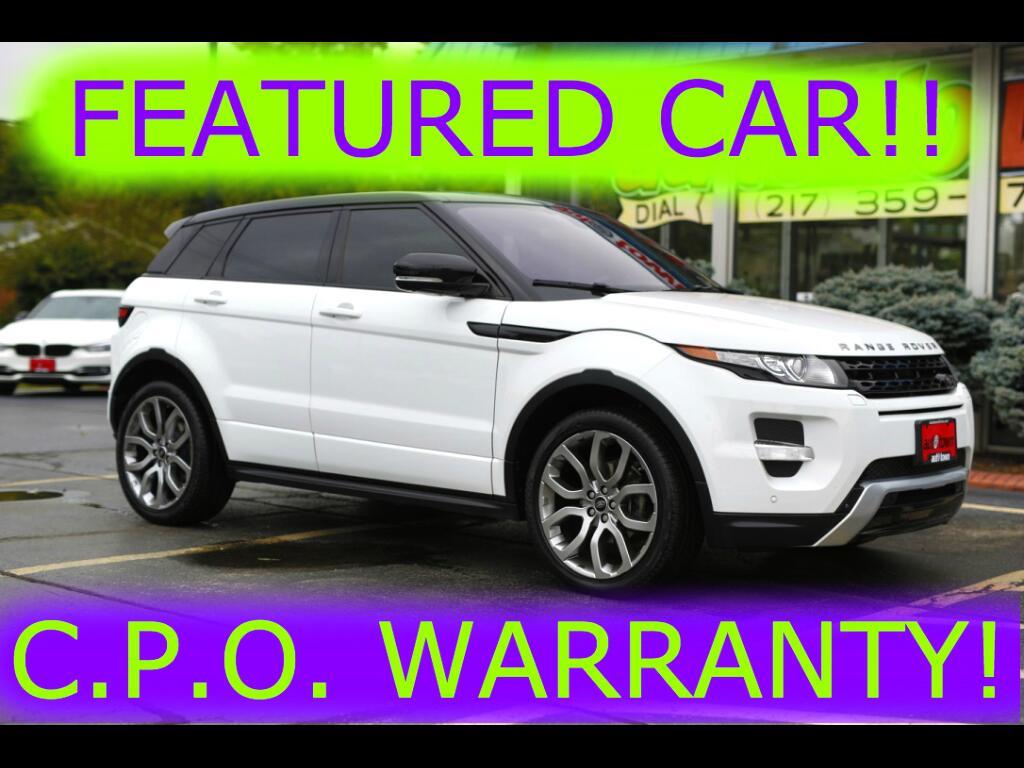 2013 Land Rover Range Rover Evoque Dynamic Premium 5-Door